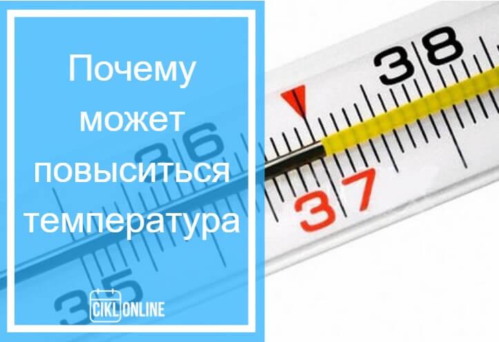 температура тела до задержки при беременности